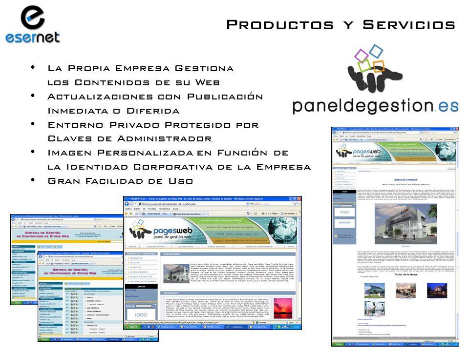 Desarrollo Web de Imagen Corporativa Desarrollo de Portales Registro de Dominios y Alojamiento Web Mantenimiento Web Productos y Servicios SERVICIOS INTERNET TODO LO QUE SU EMPRESA NECESITA PARA LA GESTIÓN Y PUBLICACIÓN DE SU WEB Con nuestro nuevo producto …