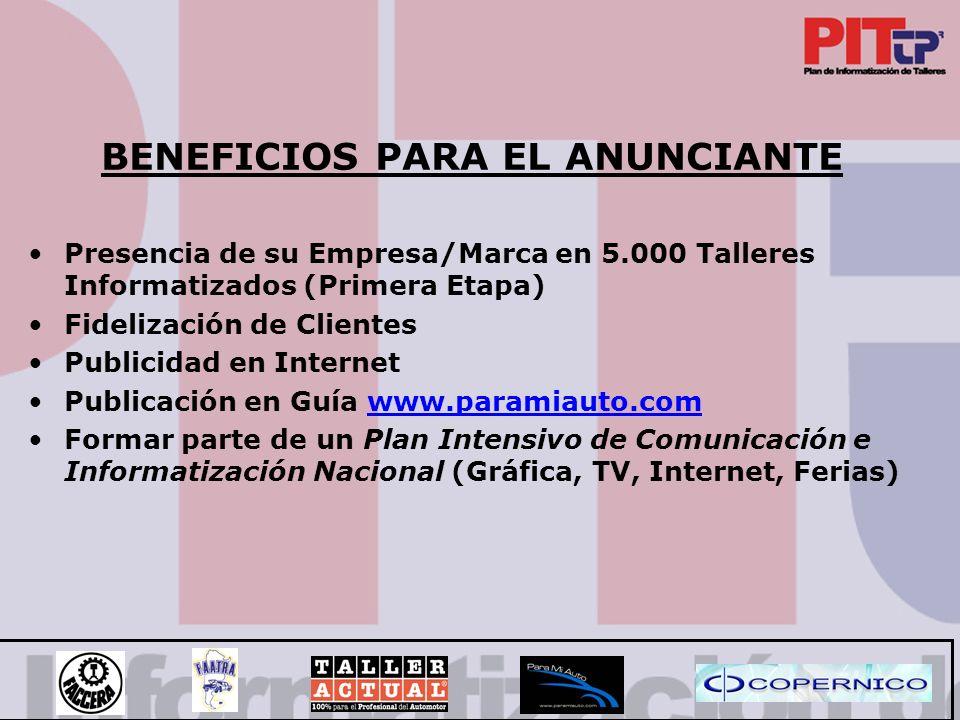 COMO ESTAR PRESENTE LAS FORMAS DE ANUNCIAR SON 3: - Main Sponsor - Sponsor Pagina de Inicio - Agenda De Proveedores