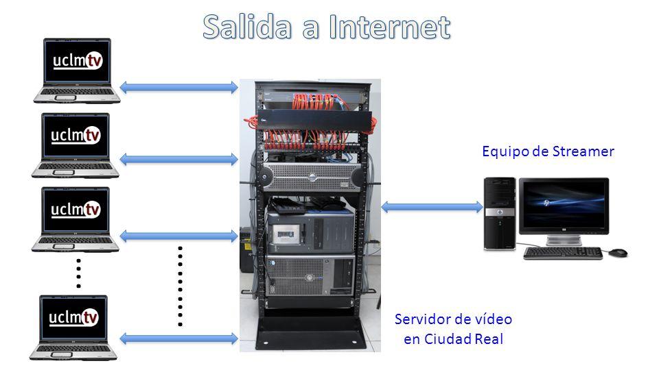 Equipo de Streamer Servidor de vídeo en Ciudad Real …. ……….