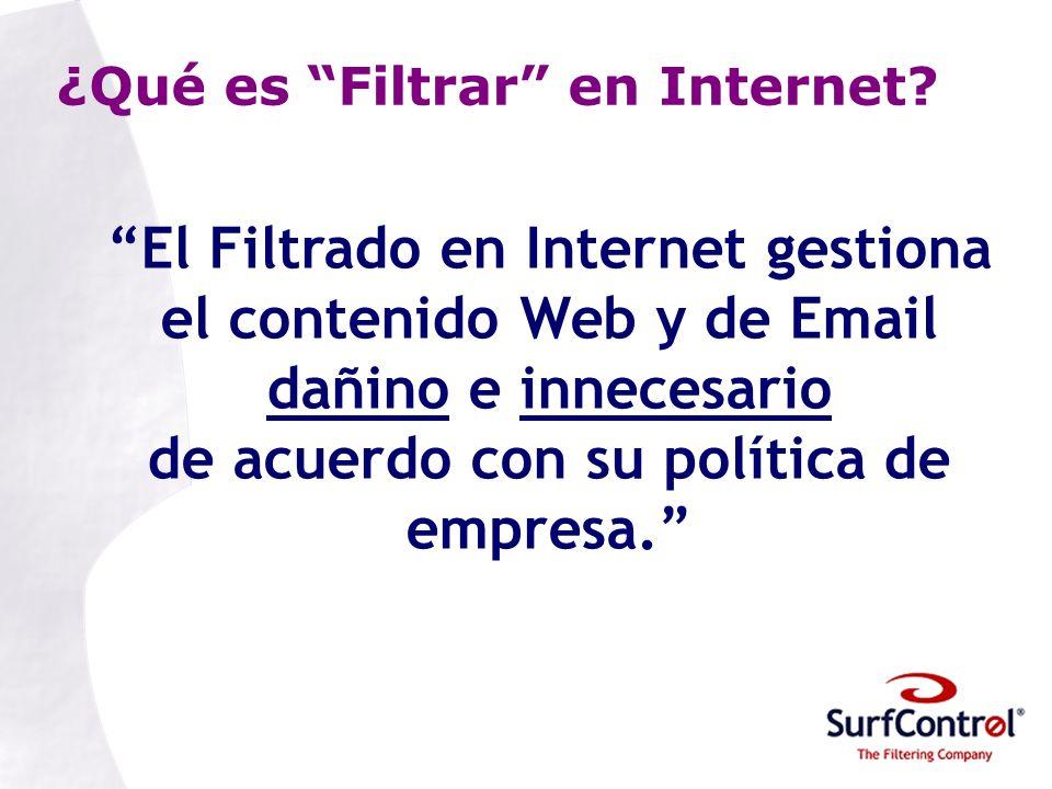 ¿Qué es Filtrar en Internet.