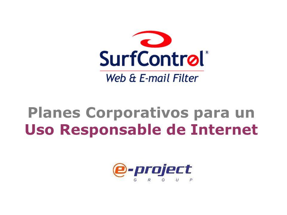 Planes Corporativos para un Uso Responsable de Internet