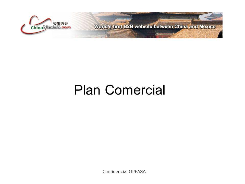 Confidencial OPEASA MexicoChina.com nace como proyecto de Opeasa empresa dedicada a la incubación de proyectos en Monterrey, N.L., como el único portal B2B entre México y el país con mayor crecimiento en el mundo, para intercambiar productos y servicios y para promover el comercio y el turismo entre ambos.