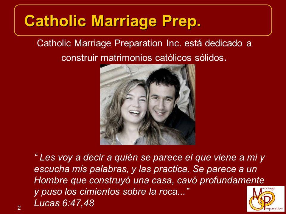 3 El curso de Catholic Marriage Prep.