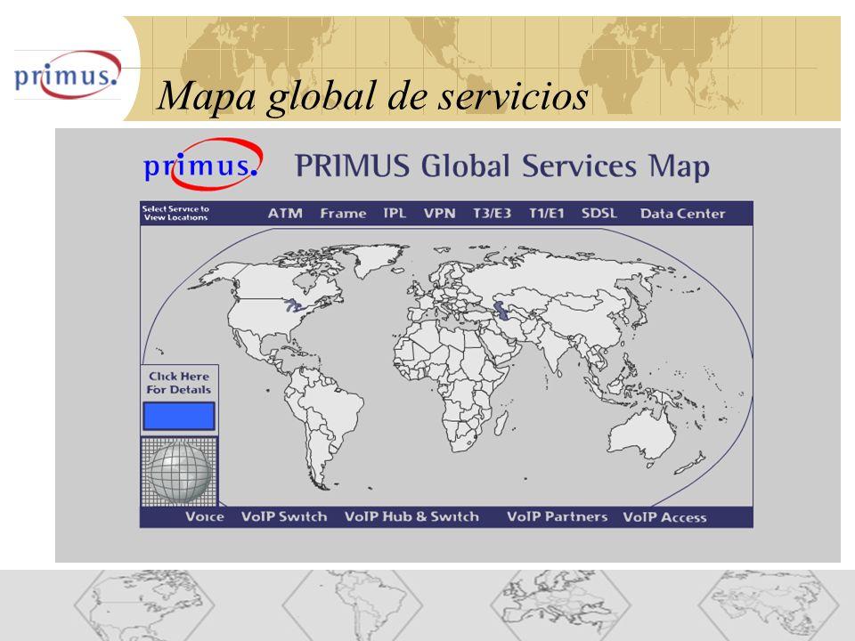 9 Mapa global de servicios