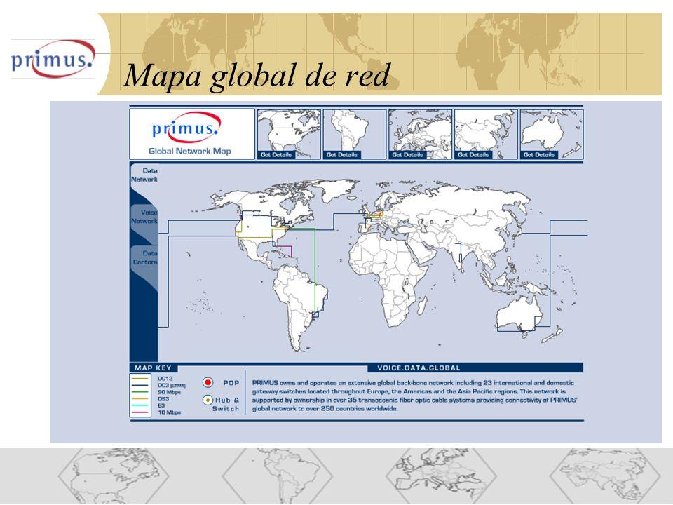 10 Mapa global de red