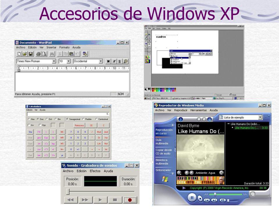 24 Accesorios de Windows XP