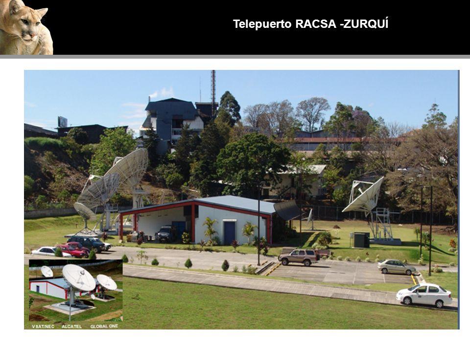 Telepuerto RACSA -ZURQUÍ Inauguración Nov-1999, Calle Blancos - San José ALCATELVSAT/NEC GLOBAL ONE