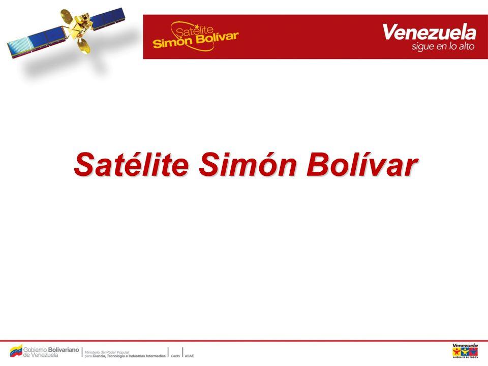 Antecedentes: El sat é lite Sim ó n Bol í var (SSB) nace como parte del proyecto VENESAT-1 impulsado por el Ministerio de Ciencia y Tecnolog í a a mediados de 2004.
