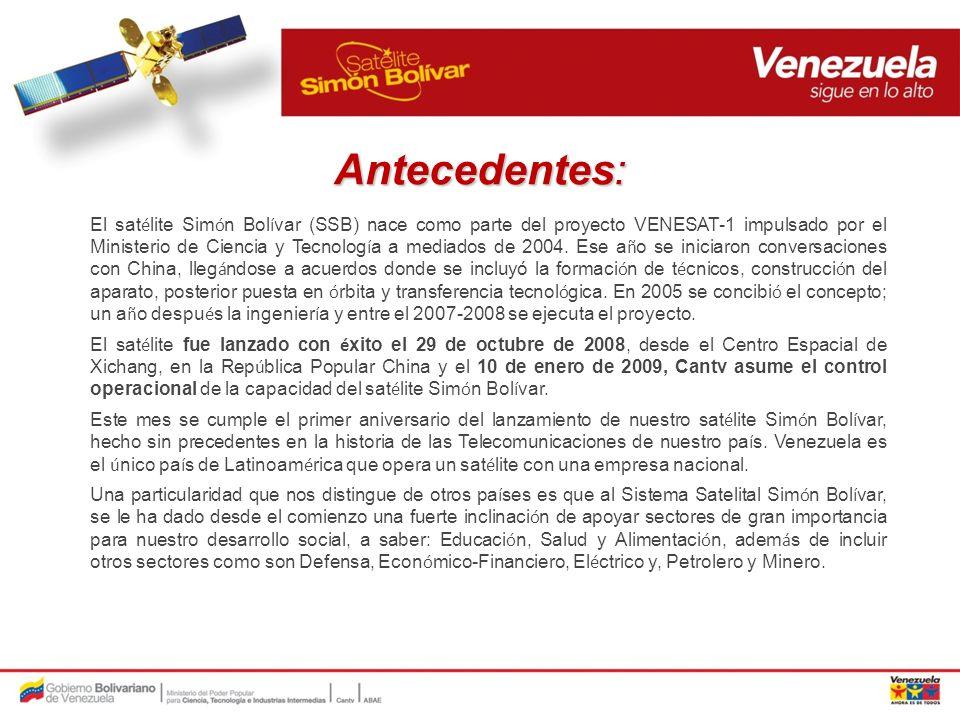 Situaci ó n al 28/10/2009: Situaci ó n al 28/10/2009: Despliegue de los servicios Al 27 de octubre de 2009 se han instalado 1580 antenas para el servicio de internet satelital (ABA satelital) seg ú n la siguiente distribuci ó n: