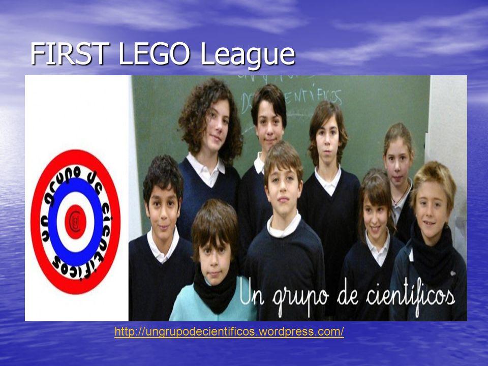 FIRST LEGO League http://ungrupodecientificos.wordpress.com/