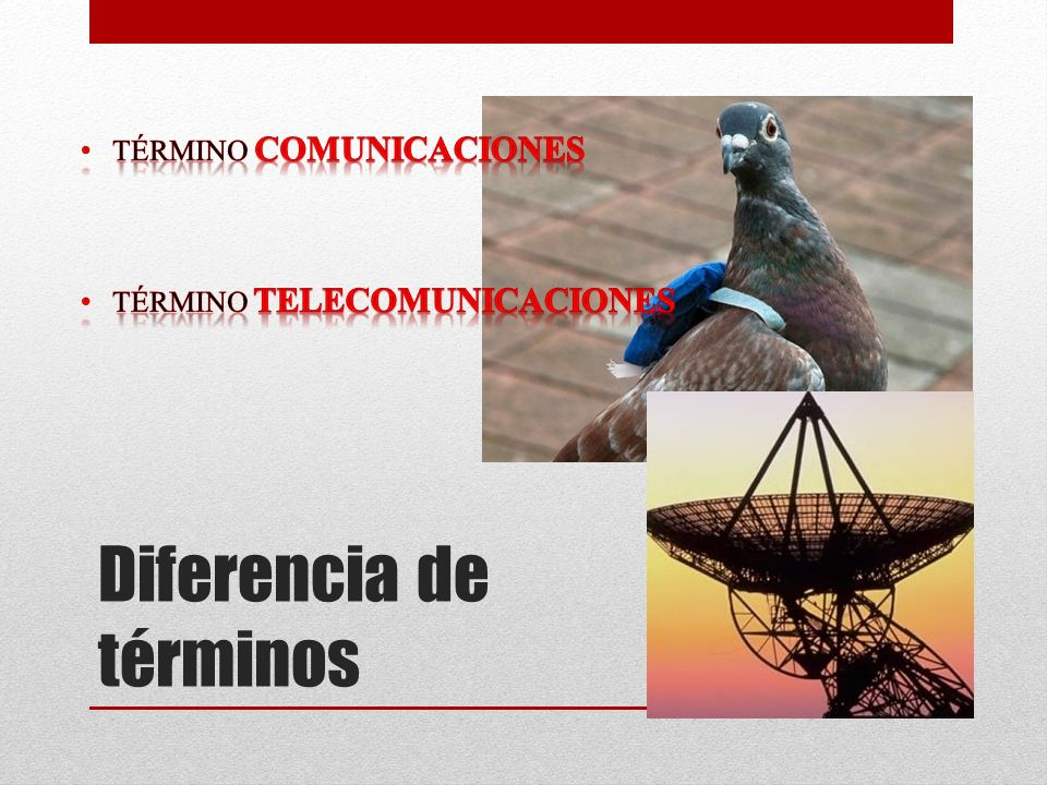 Definición de Telecomunicaciones