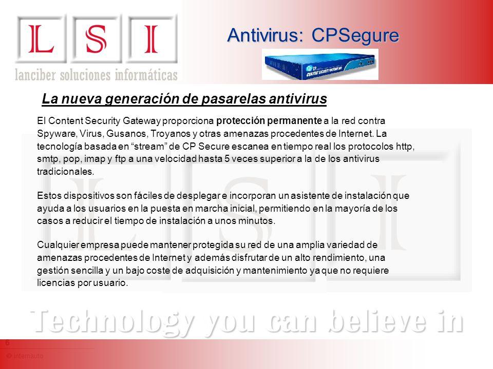 internauto 7 Technology you can believe in Antivirus: Norman Virus Control Norman Virus Control (NVC) es un programa antivirus que protege sus estaciones y servidores contra software malicioso, también llamado malware.