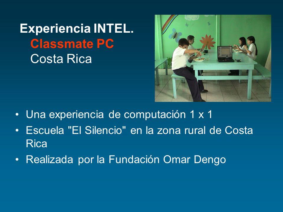 Una experiencia de computación 1 x 1 Escuela