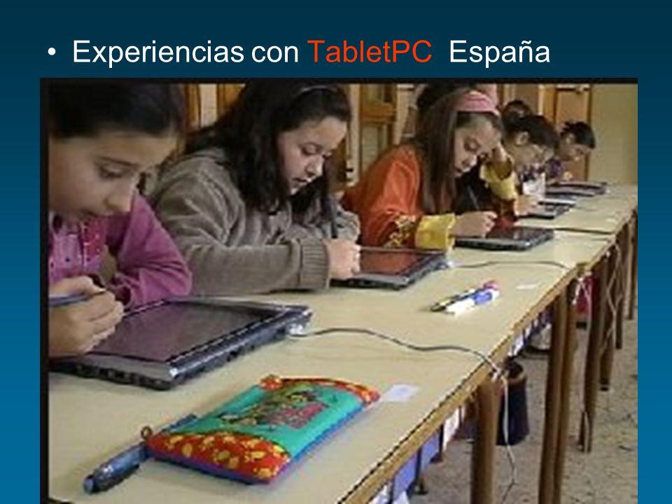 Experiencias con PDA País Vasco Grupo de investigación Berril@b Proyecto Innovación educativa con m-learning.