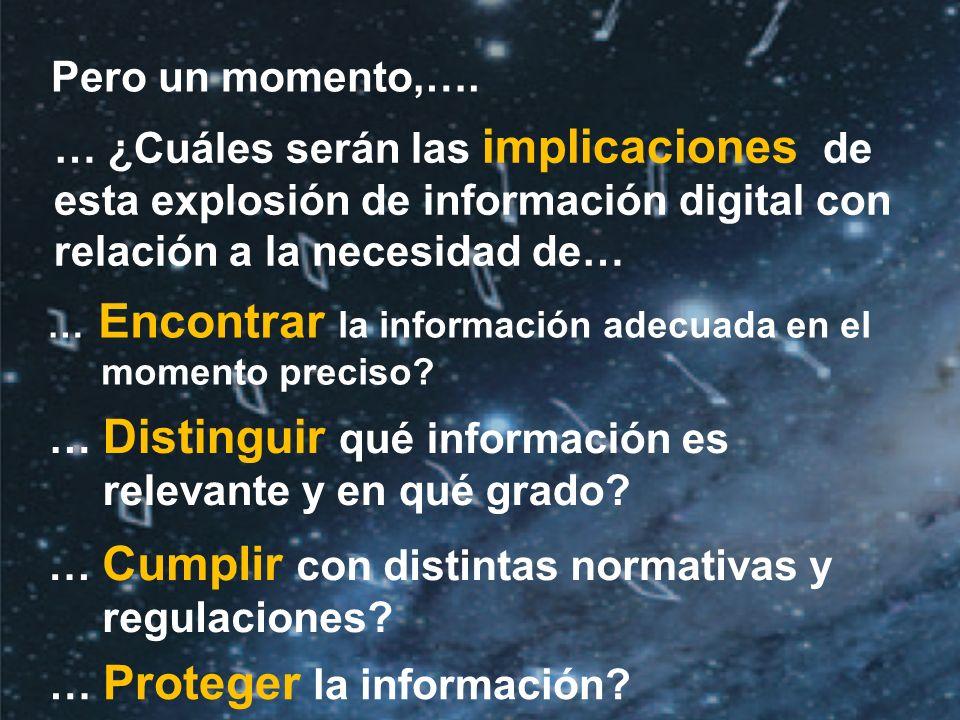 ©2010 IDC | 9 Pero un momento,….… Encontrar la información adecuada en el momento preciso.