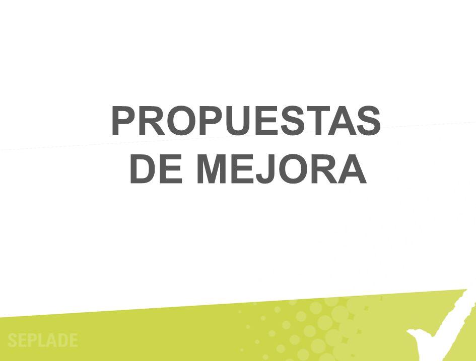 PROPUESTAS DE MEJORA