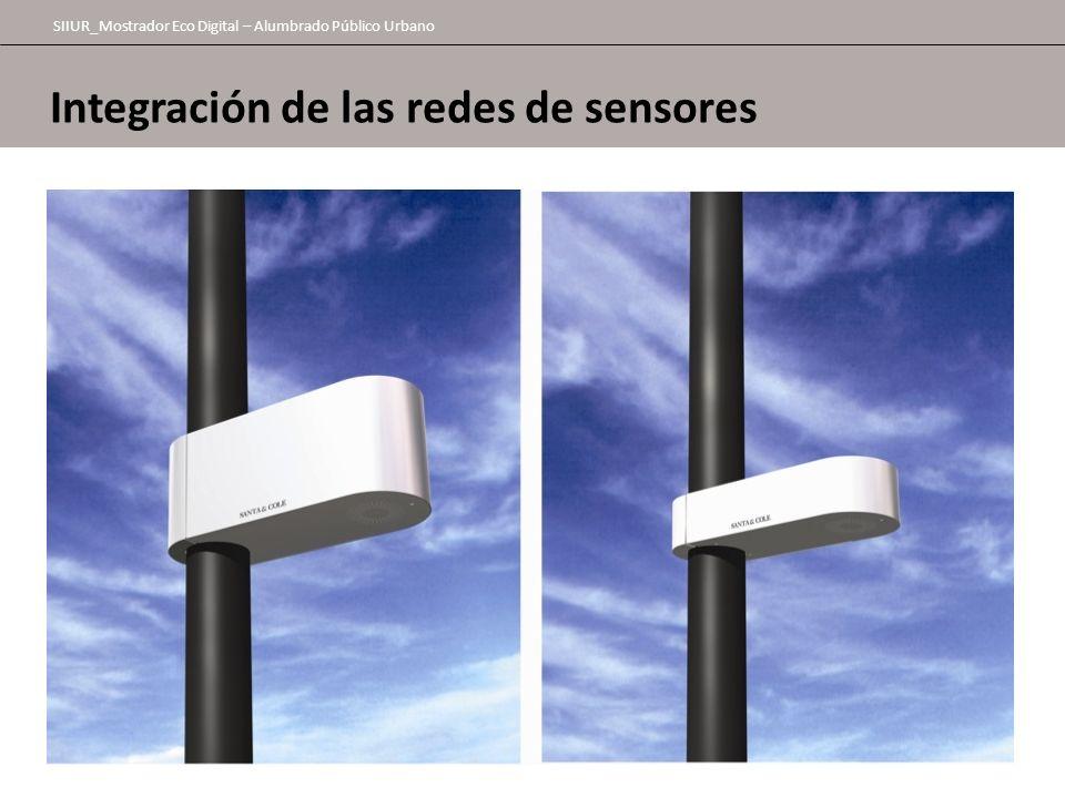 SIIUR_Mostrador Eco Digital – Alumbrado Público Urbano Integración de las redes de sensores