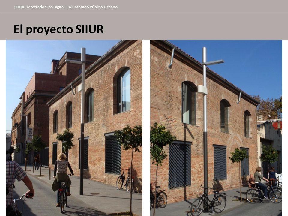 El proyecto SIIUR SIIUR_Mostrador Eco Digital – Alumbrado Público Urbano