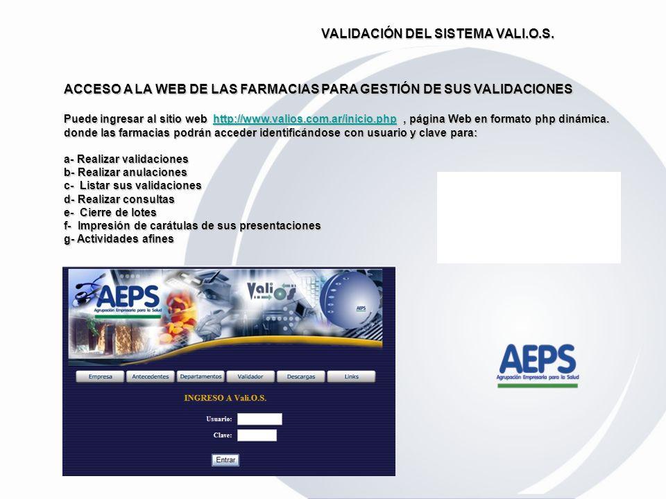 b) Carga manual de los datos en la pantalla de ingreso de nuestro validador. ingreso de nuestro validador. Al recibir la respuesta da la posibilidad d