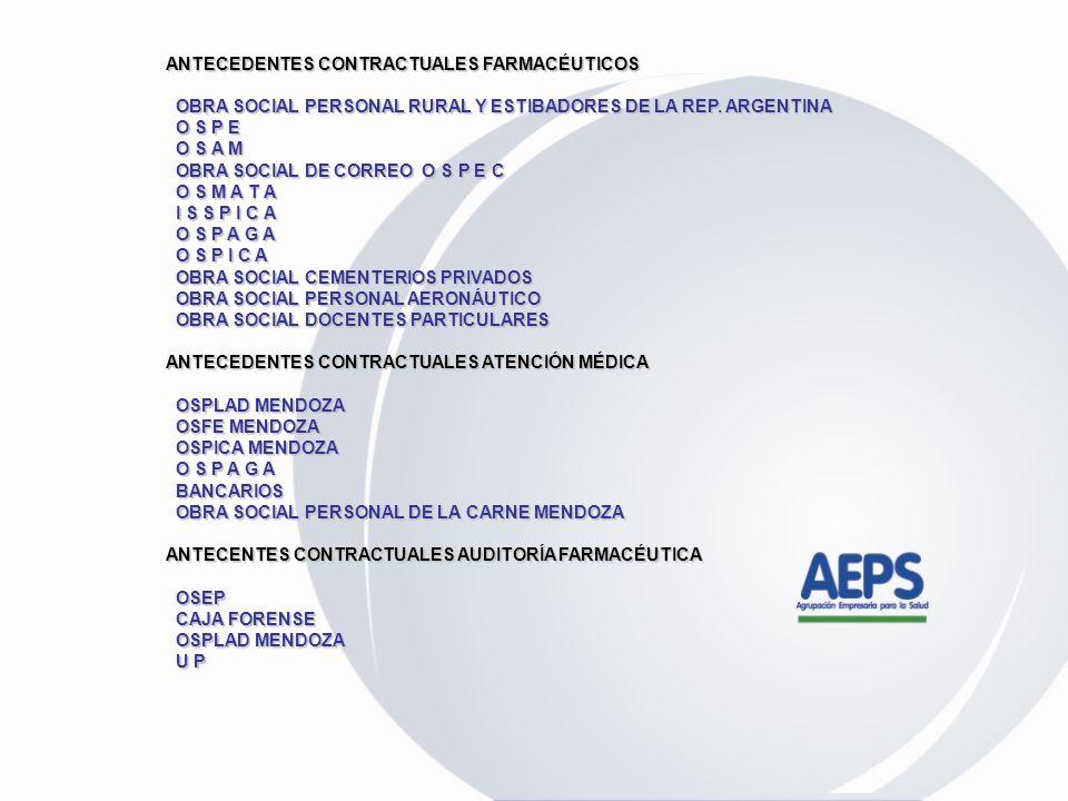 Es un grupo empresario cuya misión es brindar una solución integral para la prestación de servicios farmacéuticos a poblaciones beneficiarias de Obras