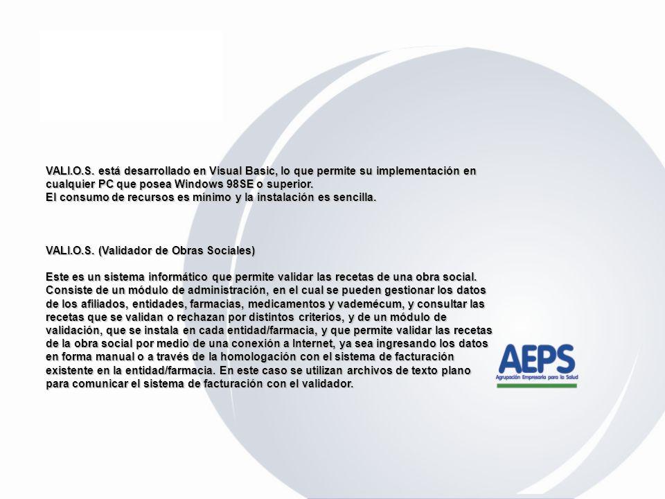 IMPLEMENTACIÓN DE SISTEMA DE VALIDACIÓN ON-LINE A partir del 1 de Marzo de 2007 se implementa y pone en funcionamiento el sistema de validación ON-LIN