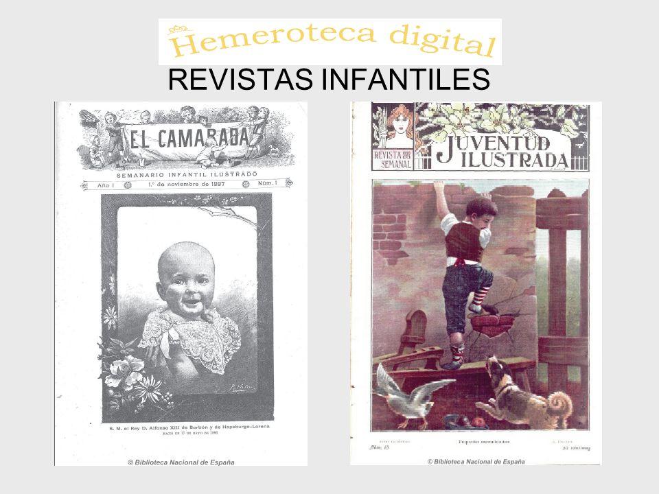 REVISTAS INFANTILES