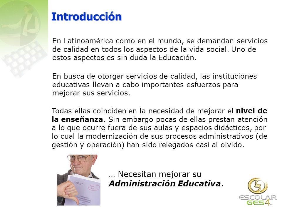 Introducción En Latinoamérica como en el mundo, se demandan servicios de calidad en todos los aspectos de la vida social.