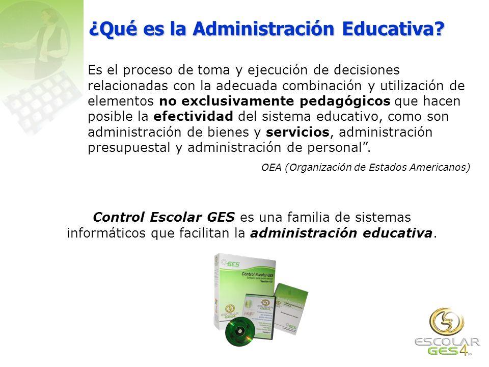 Contáctenos Control Escolar GES es la única suite informática latinoamericana que le ofrece un conjunto de ventajas que ningún otro proveedor le pueden ofrecer.
