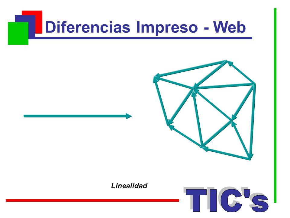 Diferencias Impreso - Web Linealidad