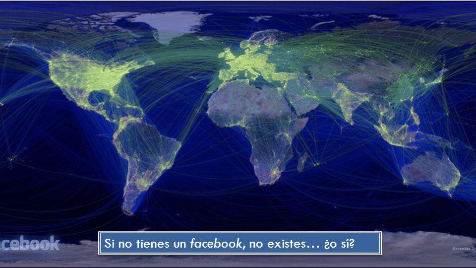 Si no tienes un facebook, no existes… ¿o sí?