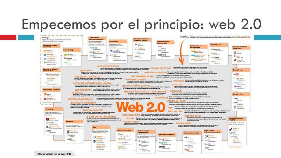 Empecemos por el principio: web 2.0