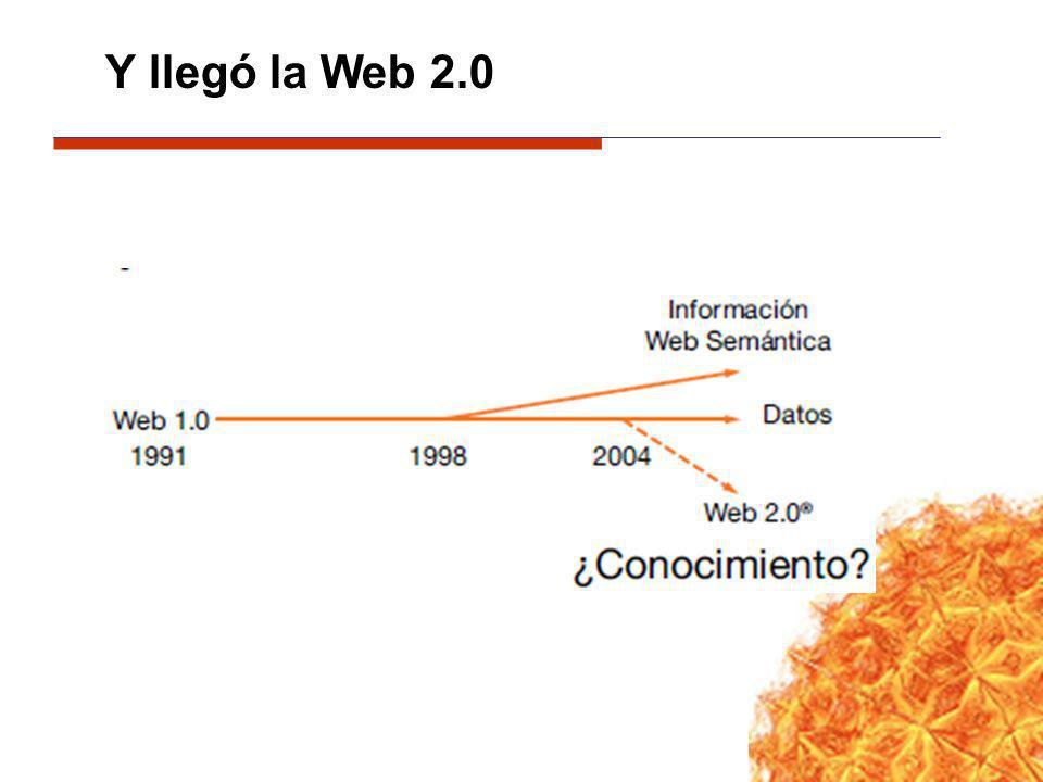 Y llegó la Web 2.0