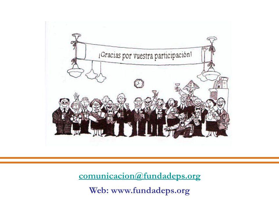 comunicacion@fundadeps.org Web: www.fundadeps.org