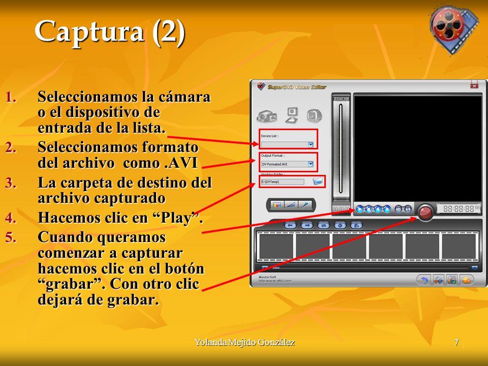 Yolanda Mejido González 18 Edición de video con Super DVD Video Editor 1 Fin de la presentación