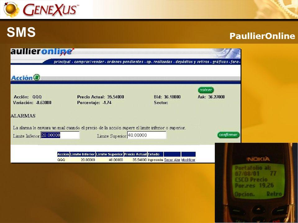 SMS PaullierOnline