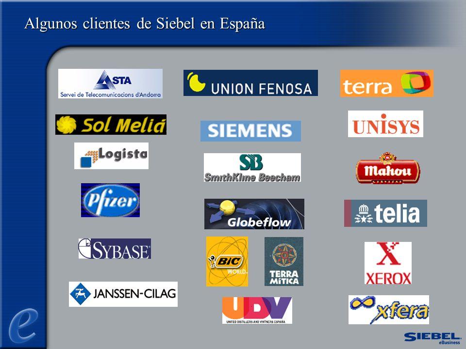 Field Service - Cuota de Mercado Q1 2001 2000 Q1 2001 48%61% Fuente: Siebel Analysis