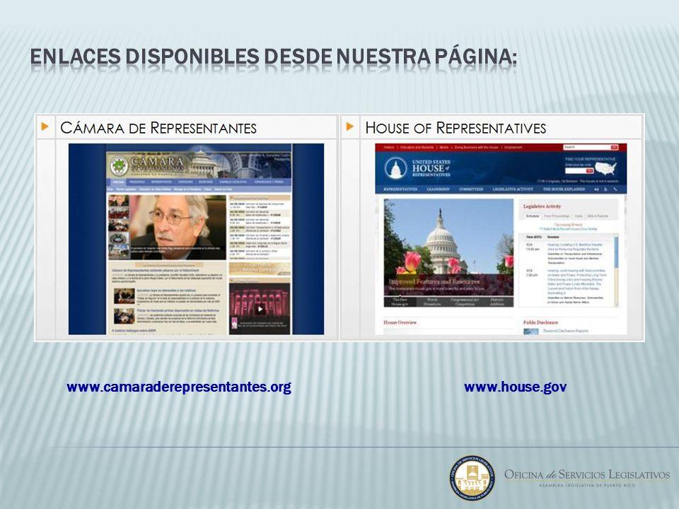 www.house.govwww.camaraderepresentantes.org