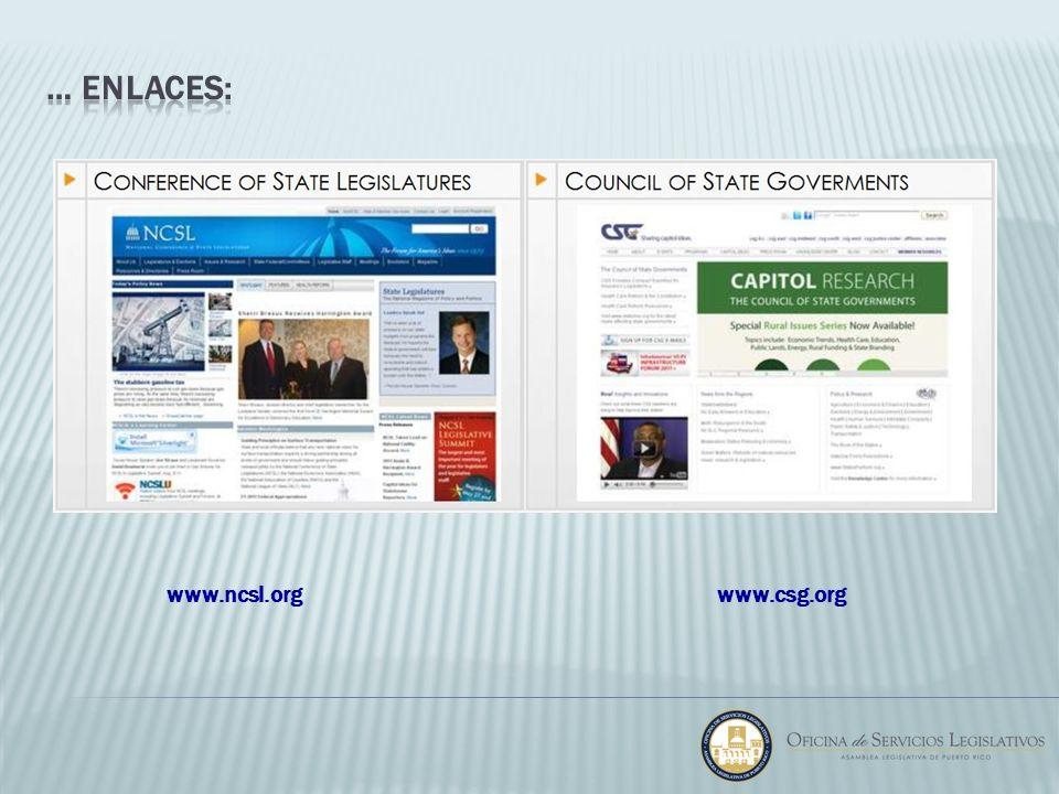 www.csg.orgwww.ncsl.org