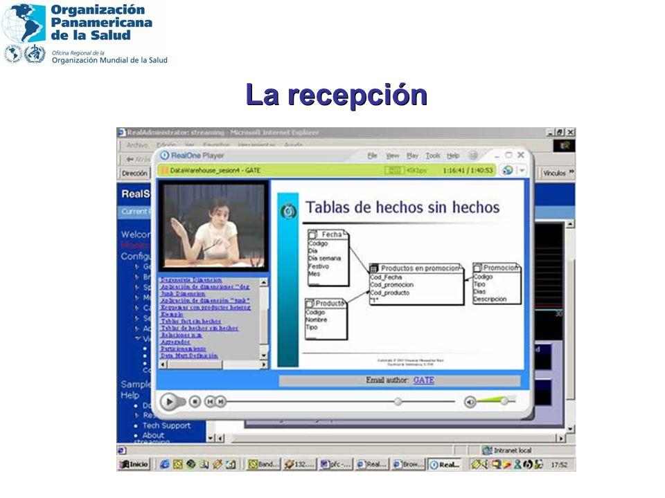 Pc Pentium III o superior con acceso a Internet (preferentemente banda ancha) Placa de audio de 16 bit Video: Monitor de 16 colores Software: Windows 98 o Windows XP o Windows 2000 Professional Internet Explorer 5.0 o superior Windows Media Player 9.0 o superior En caso de que tenga instalado en su computador programas Anti-Popup necesitará deshabilitarlos Se recomienda una resolución de pantalla de 800x600 pixels Reproductor de Windows Media Ser usuario acreditado del programa de capacitación a distancia Pc Pentium III o superior con acceso a Internet (preferentemente banda ancha) Placa de audio de 16 bit Video: Monitor de 16 colores Software: Windows 98 o Windows XP o Windows 2000 Professional Internet Explorer 5.0 o superior Windows Media Player 9.0 o superior En caso de que tenga instalado en su computador programas Anti-Popup necesitará deshabilitarlos Se recomienda una resolución de pantalla de 800x600 pixels Reproductor de Windows Media Ser usuario acreditado del programa de capacitación a distancia Requisitos del usuario remoto