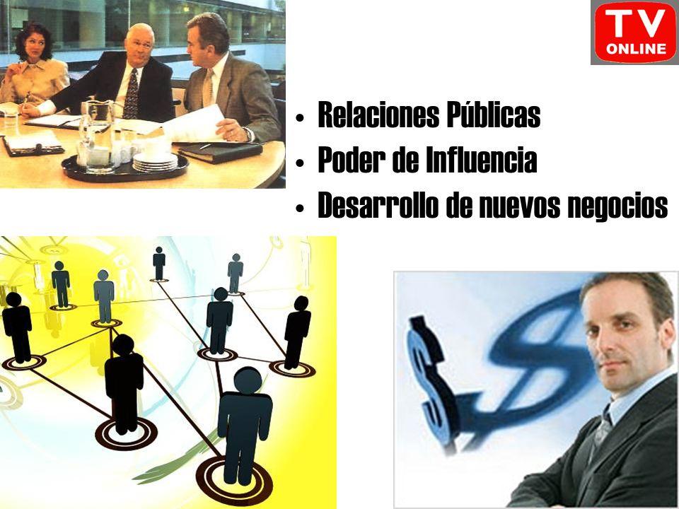 Relaciones Públicas Poder de Influencia Desarrollo de nuevos negocios