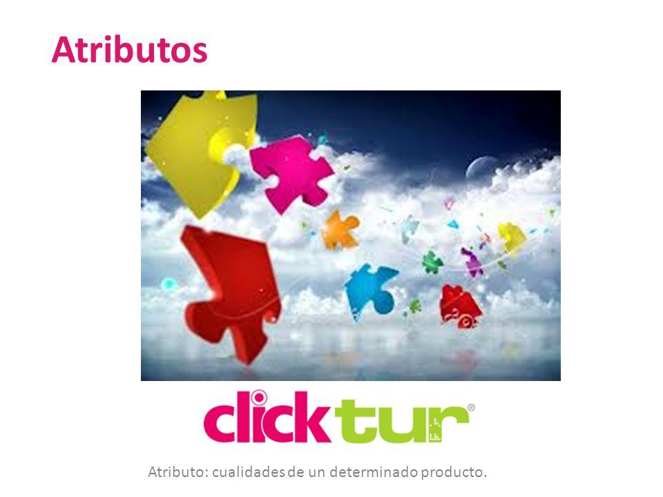 Qui Atributos Atributo: cualidades de un determinado producto.