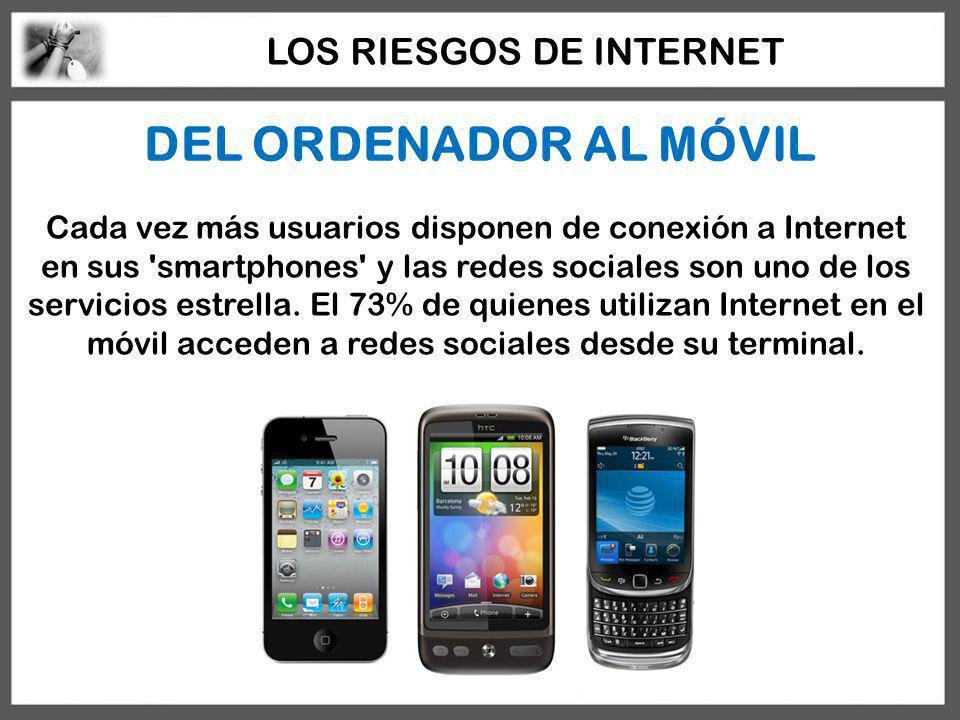 DEL ORDENADOR AL MÓVIL Cada vez más usuarios disponen de conexión a Internet en sus 'smartphones' y las redes sociales son uno de los servicios estrel