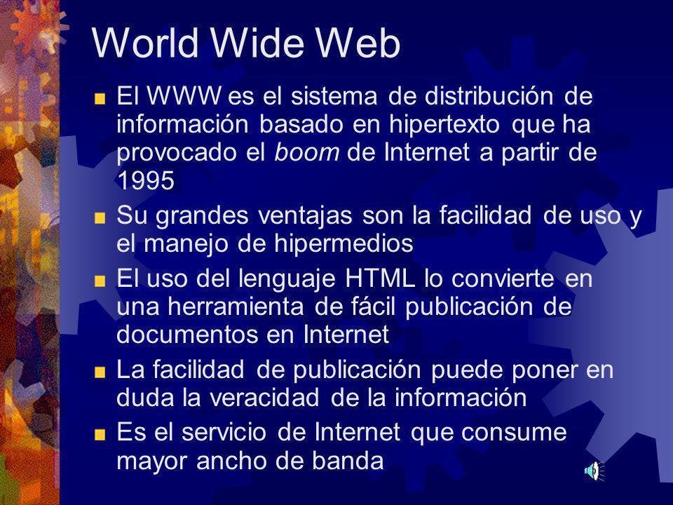 IRC - Plática en línea Permite, mediante canales (como la radio o la televisión) charlar a través del teclado con varios usuarios remotos Cada canal d