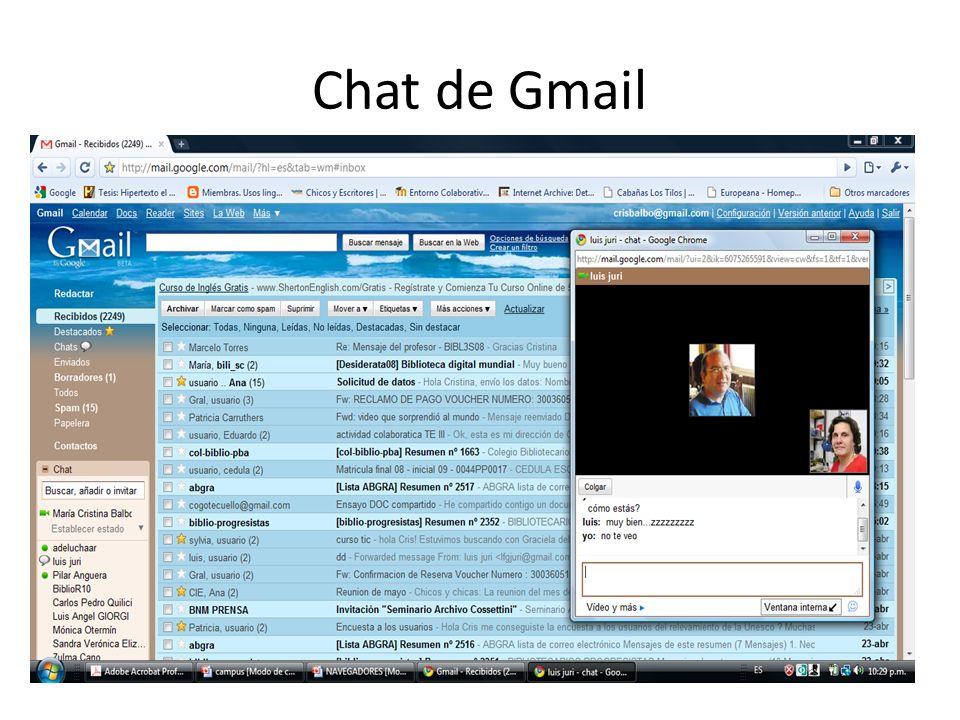 Chat de Gmail