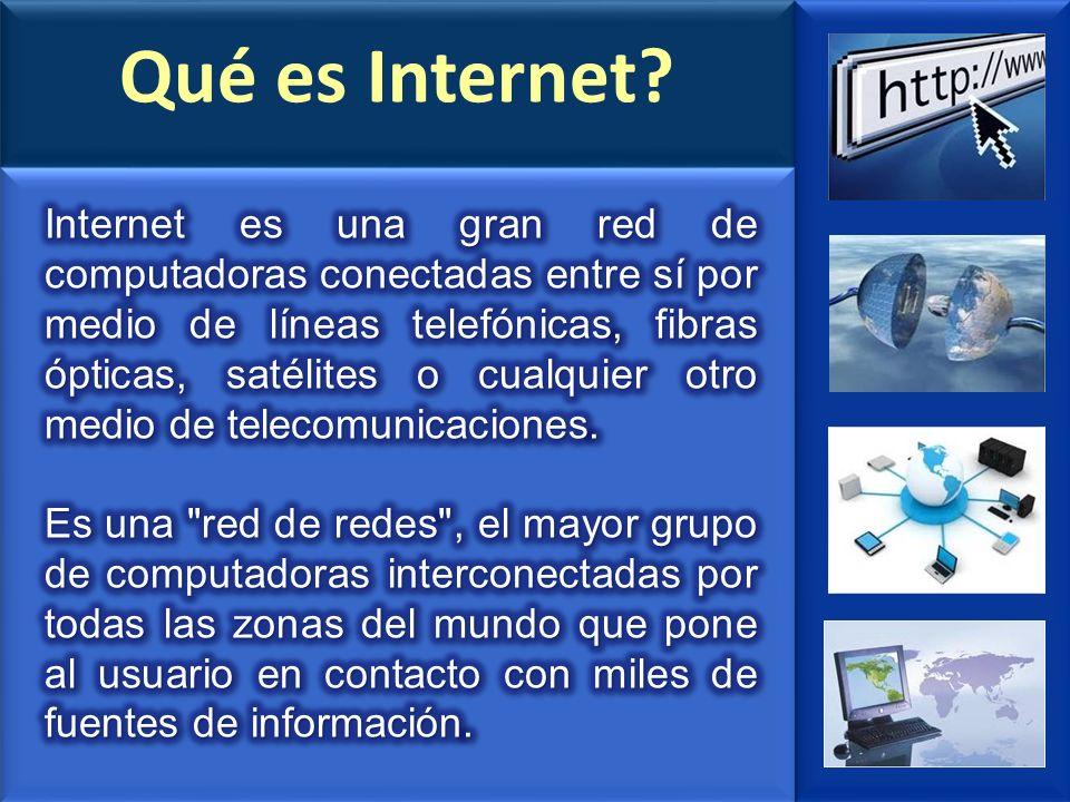 Qué es Internet?