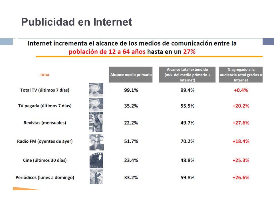En el 2009 el número de internautas alcanzó los 30.6 millones.