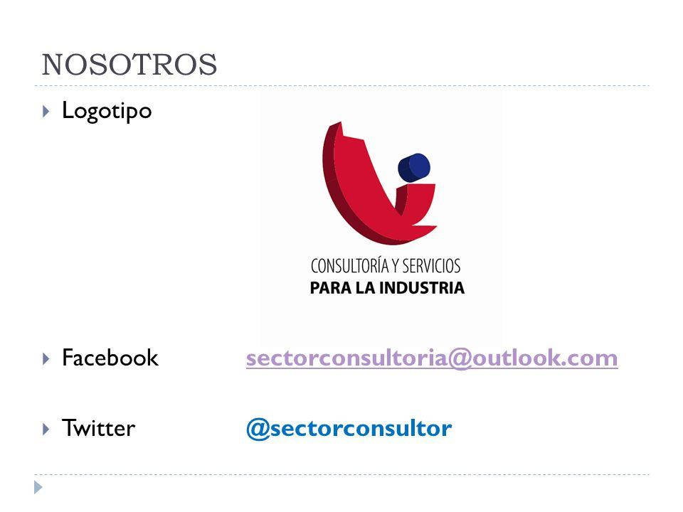 Logotipo Facebooksectorconsultoria@outlook.comsectorconsultoria@outlook.com Twitter@sectorconsultor NOSOTROS