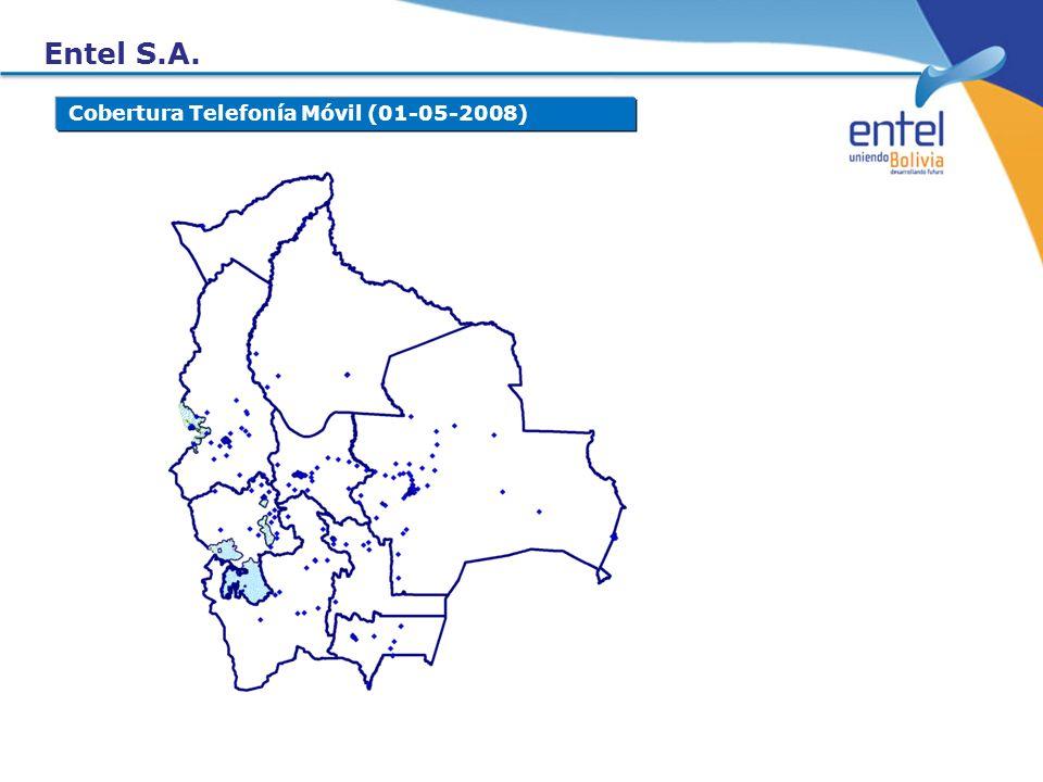 Entel S.A. Cobertura Telefonía Móvil (01-05-2008)