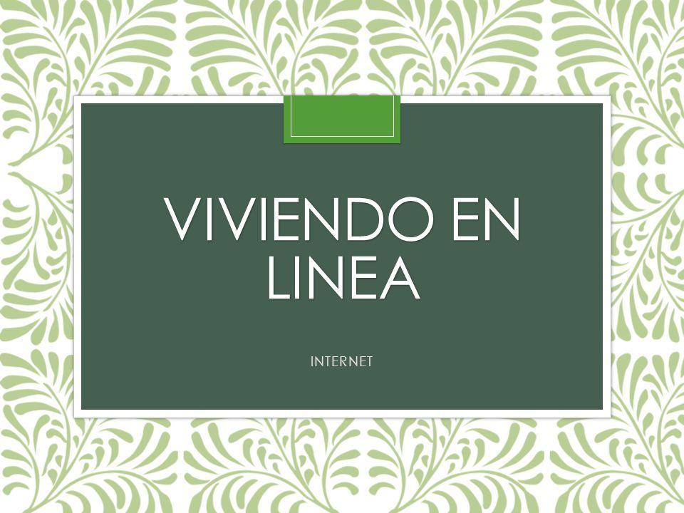 VIVIENDO EN LINEA INTERNET