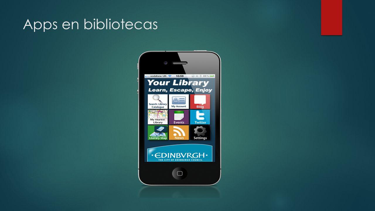 Apps en bibliotecas